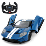 ford toy car blue