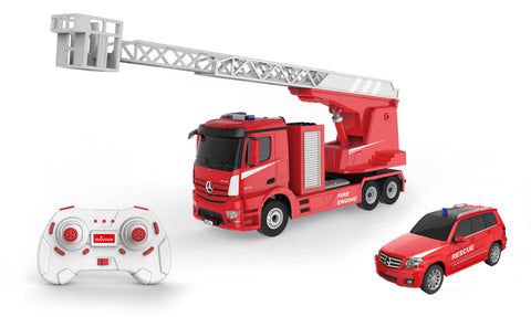 Mercedes Firetruck and Mercedes GLK Car Remote Control 2 in 1 Comb