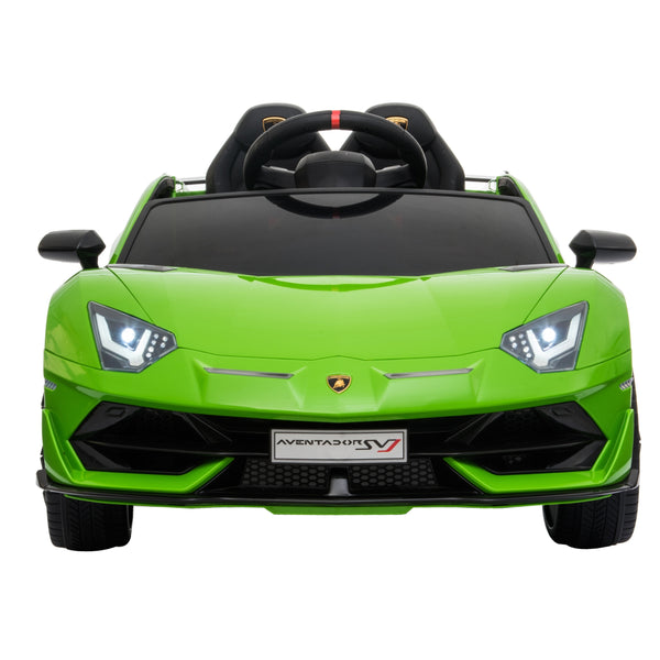 Lamborghini SVJ - 12V Ride On Car w. RC