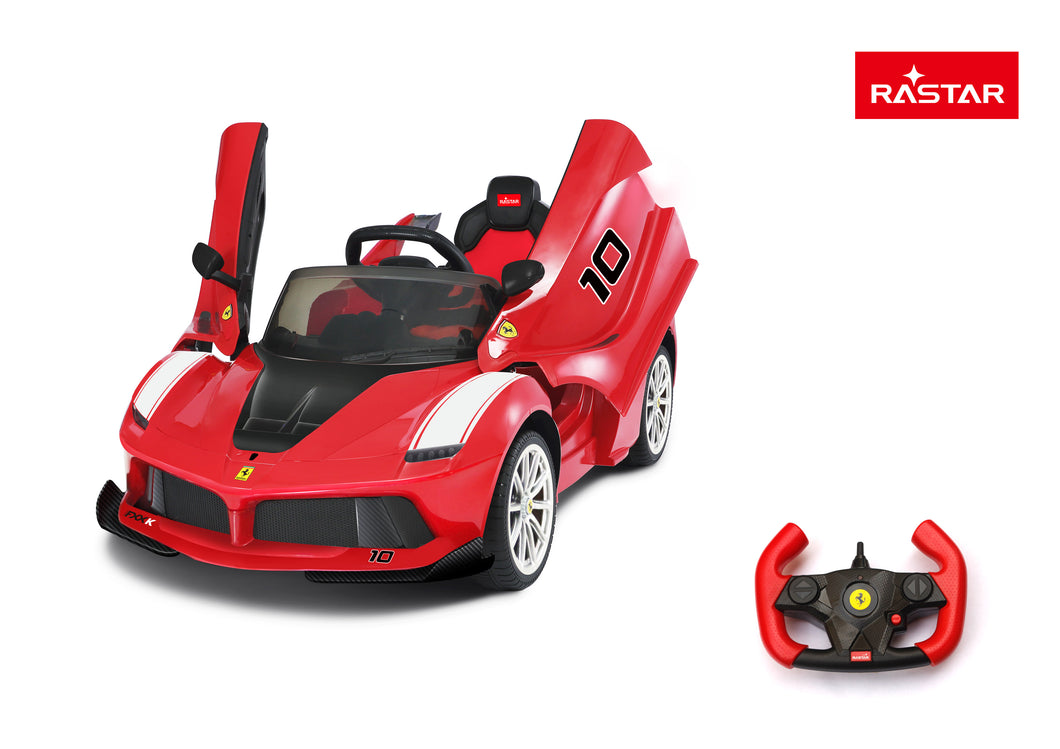 Ferrari FXX 12V Ride On Car - 2.4GHz Parental Remote Control