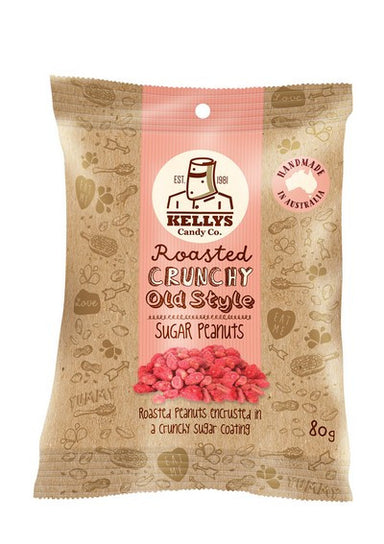 Sugar Peanuts - Snack Pack 80g (1) Individual - Kellys Candy Co.