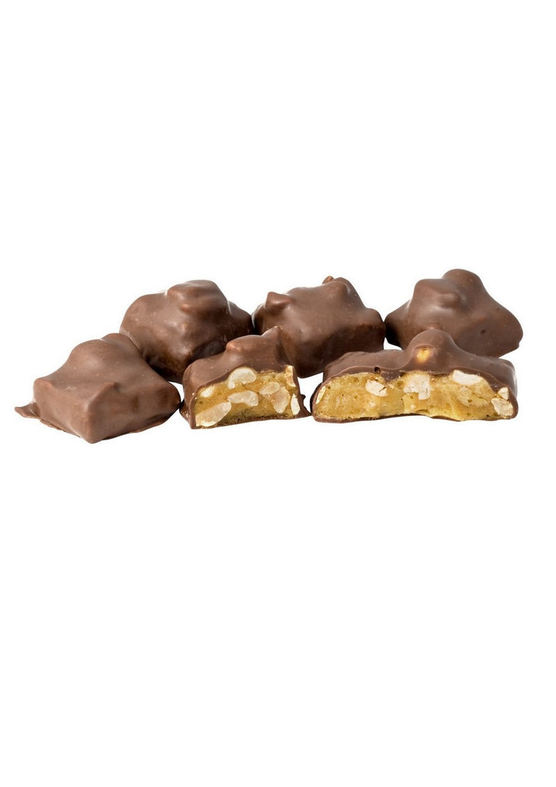 Choc Peanut Brittle - Bulk 3kg (1) Outer - Kellys Candy Co.