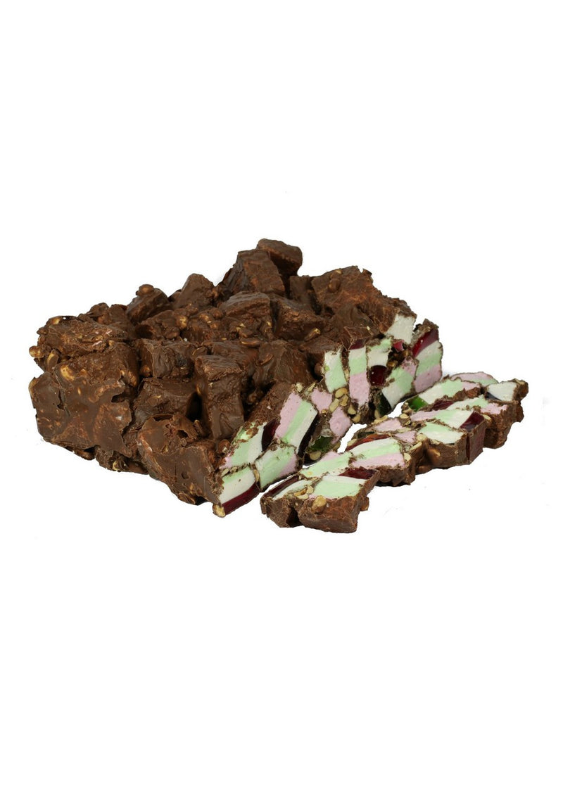 Milk Rocky Road - Bulk 3kg (1) Outer - Kellys Candy Co.