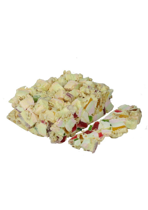 White Rocky Road - Bulk 3kg (1) Outer - Kellys Candy Co.