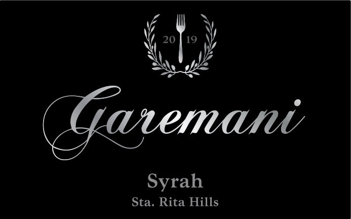 2019 Syrah Bottle