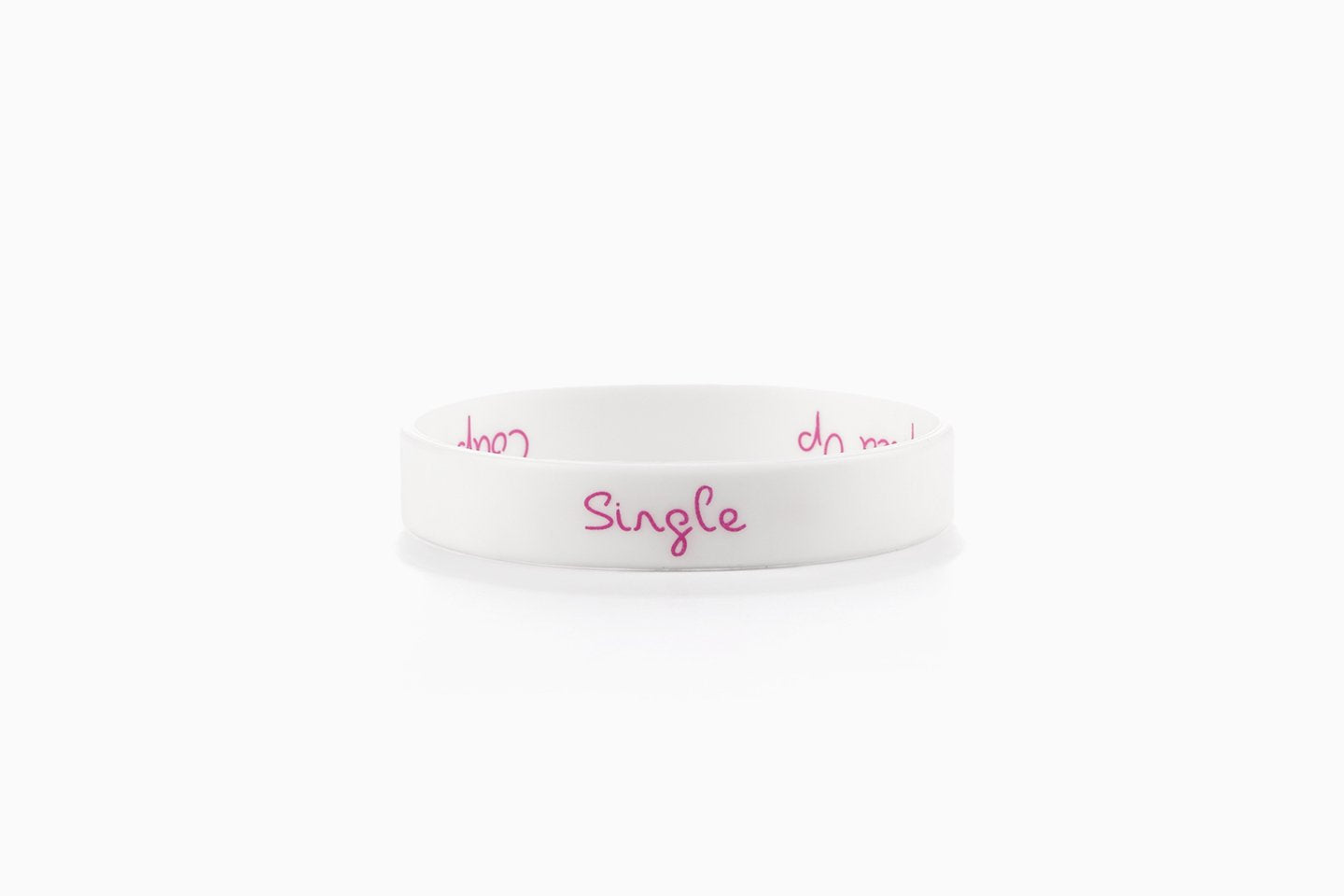 Official Love Island Reversible Wristband - Coupled Up/Single