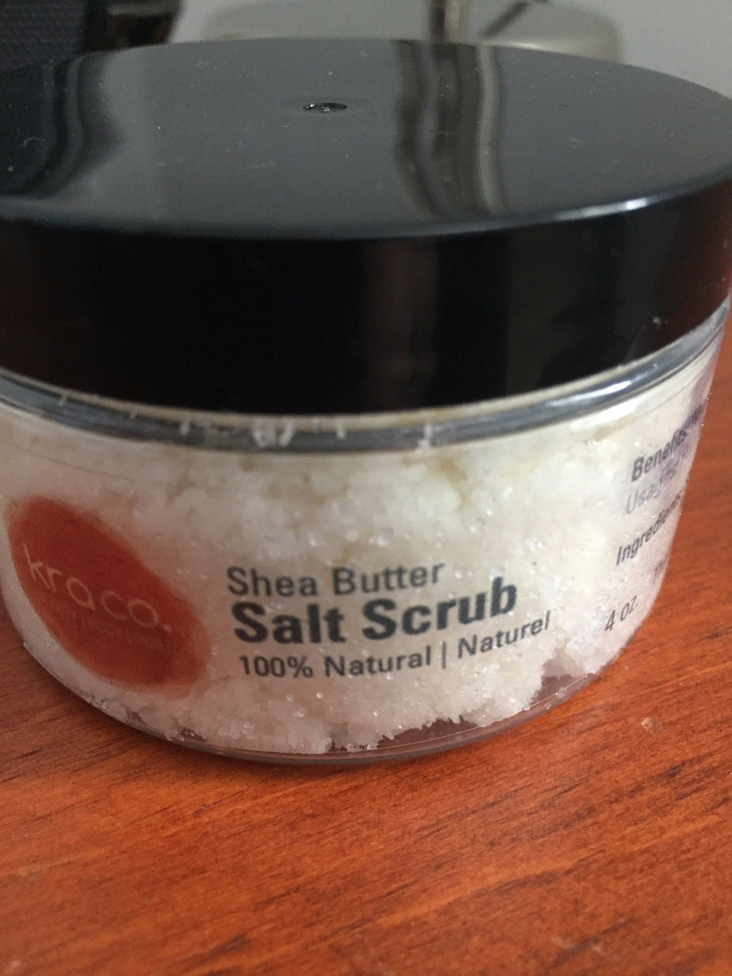 Shea Butter Salt Scrub