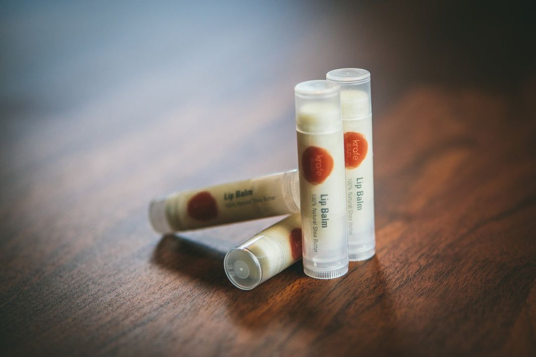 Lip Balm (Package of 4)