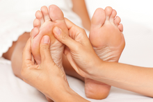 Reflexology Session with Pina
