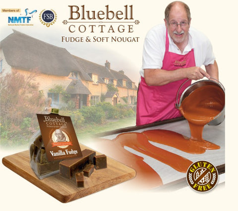 Bluebell Cottage is passionate and professional about providing you with great quality and tasty fudge