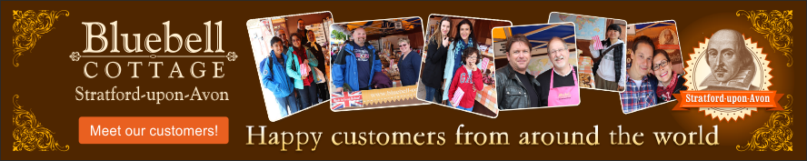 Meet our happy Bluebell Cottage customers from around the world