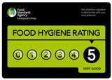 Bluebell Cottage have a 5 star food hygiene rating