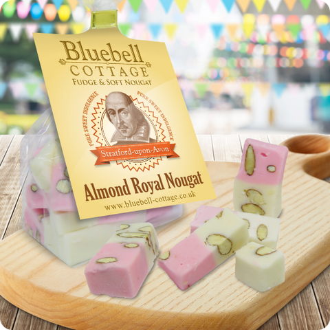 Almond Royal Nougat by Bluebell Cottage