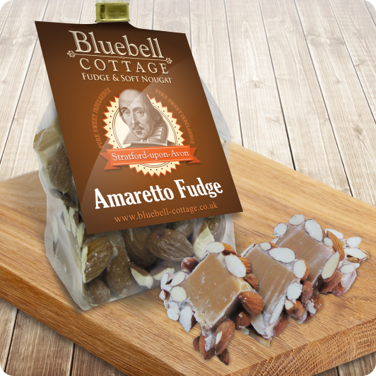 Amaretto Fudge by Bluebell Cottage