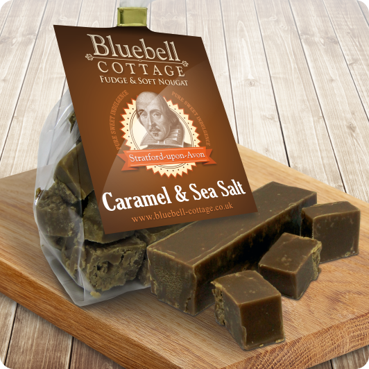 Caramel & Sea Salt - a fudge with a difference by Bluebell Cottage