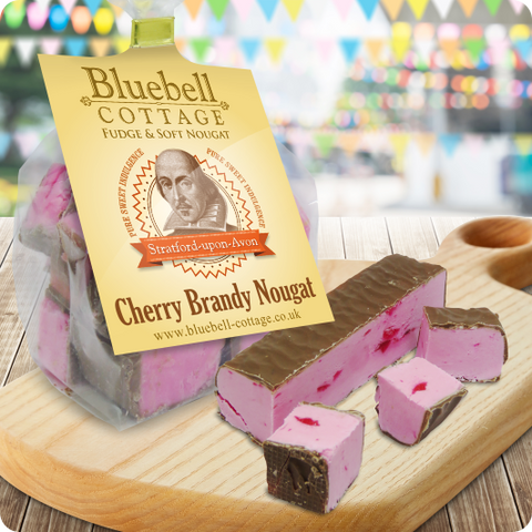 Cherry Brandy Nougat by Bluebell Cottage