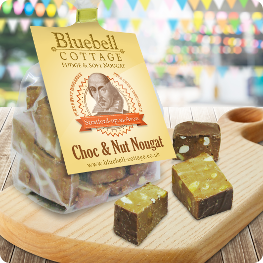 Choc & Nut Nougat by Bluebell Cottage