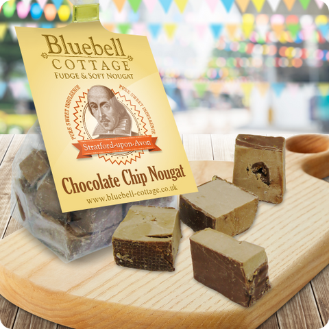 Chocolate Chip Nougat by Bluebell Cottage