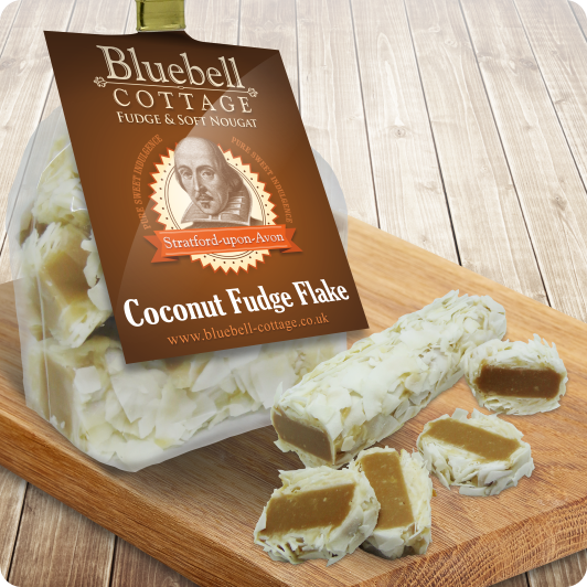 Coconut Fudge Flake by Bluebell Cottage