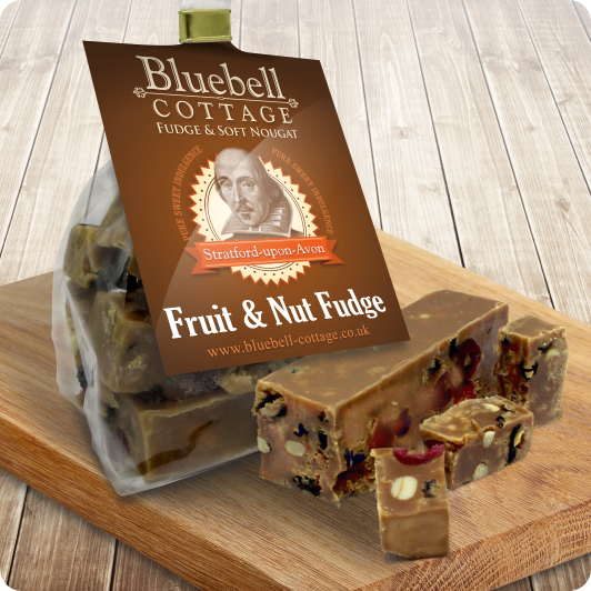 Fruit & Nut Fudge a true classic by Bluebell Cottage