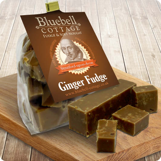 Ginger Fudge By Bluebell Cottage