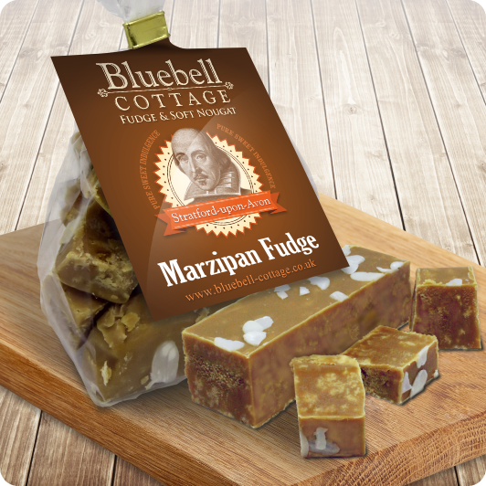 Marzipan Fudge by Bluebell Cottage