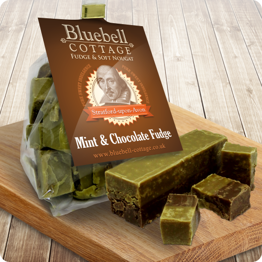 Mint & Chocolate Fudge by Bluebell Cottage