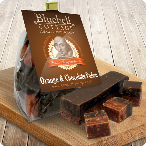 Orange & Chocolate Fudge by Bluebell Cottage