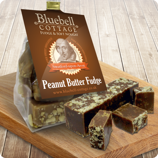 Peanut Butter Fudge from Bluebell Cottage