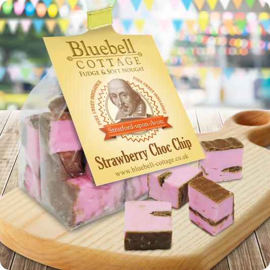 Strawberry Choc Chip Nougat by Bluebell Coattage