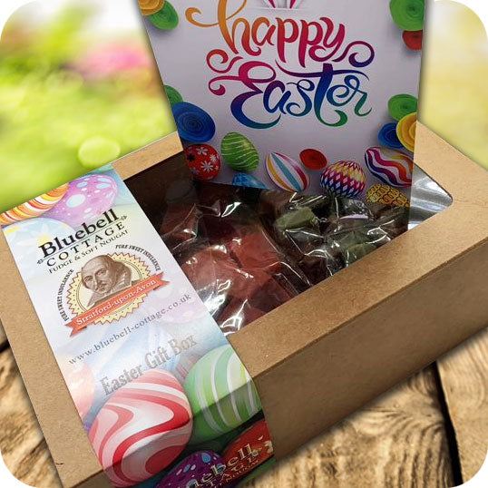 Easter 3 Fudge 1KG Gift Box & Easter Card - Choose your flavours