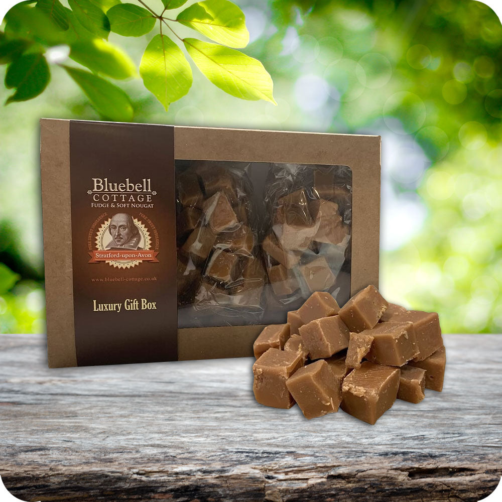 Single Fudge 1KG Gift Box by Bluebell Cottage - Choose your flavour