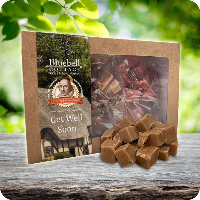 Get Well Soon 3 Fudge 1KG Gift Box - Choose your flavours