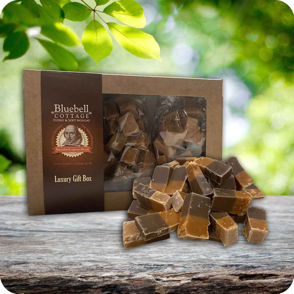 3 Fudge 1KG Gift Box by Bluebell Cottage - Choose your flavours