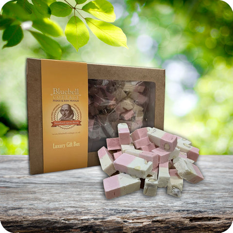 3 Nougat 1KG Gift Box by Bluebell Cottage - Choose your flavours