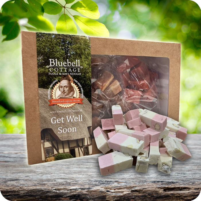 Get Well Soon Nougat 1KG Gift Box - Choose your flavours