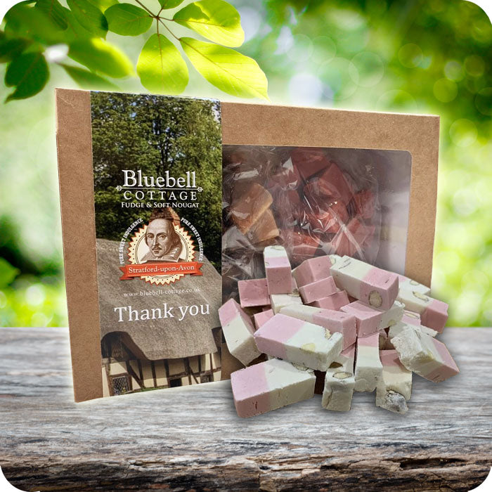 Thank You Nougat 1KG Gift Box - Choose your flavours