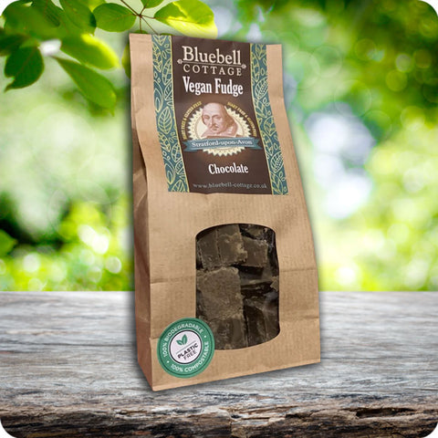 Vegan Chocolate Fudge by Bluebell Cottage - Gift Bag 190g