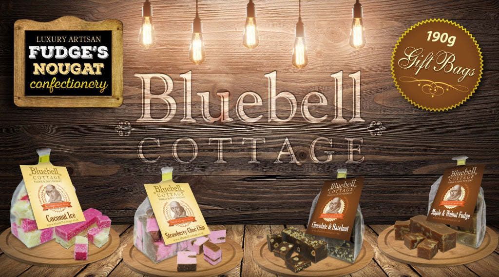 Bluebell Cottage over 50 varieties of fudge & nougat