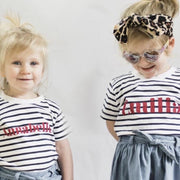 Classic Name Kids Stripe T-Shirt