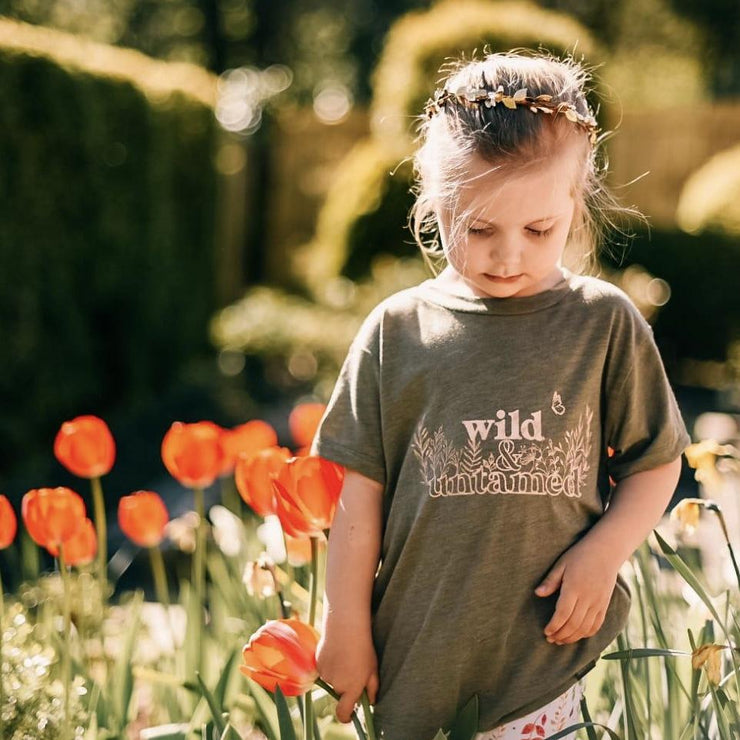 Wild and Untamed Kids T-Shirt
