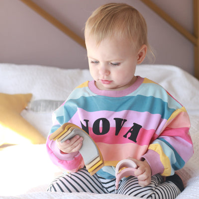 Arch Name Rainbow Kids Jumper