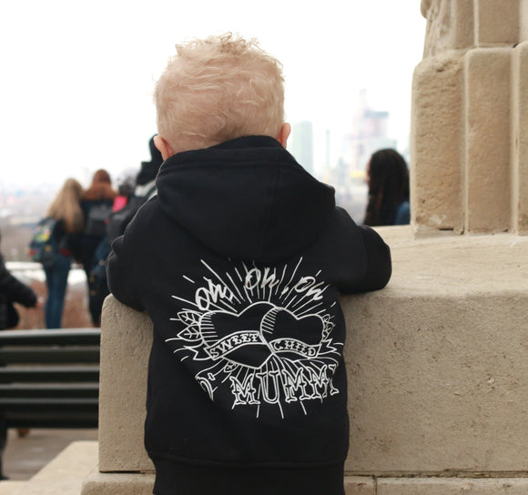 Sweet Child O'Mummy Zip Hoodie