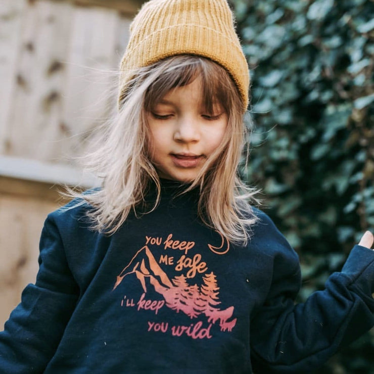 Safe and Wild Kids Sweater