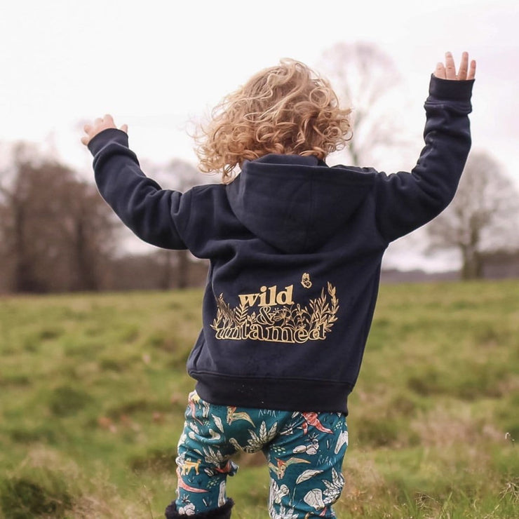 Wild and Untamed Kids Hoodie