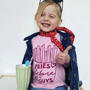 Fries Before Guys Kids T-Shirt