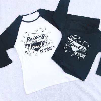 Raising the Youth Today Adult's T-Shirt/ Raglan