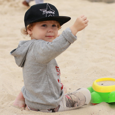 kids personalised star snapback cap hat marloweville uk