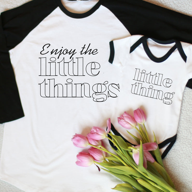 Enjoy the little things Twinning Set
