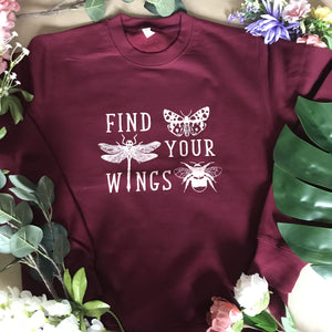 Find Your Wings Adults Sweater/ Hoodie